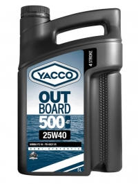 OUTBOARD 500 4T 25W40
