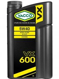 VX 600 5W40